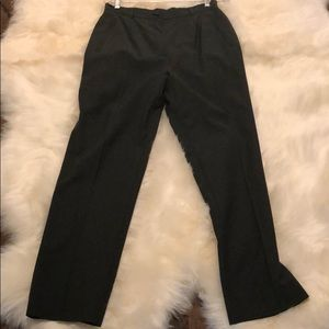 Gucci Green Military Style Dress Pants